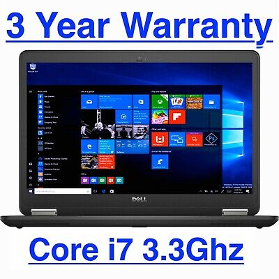 "View Details Dell Latitude Laptop E7440 14"" UltraBook Intel I7 2.10GHz 8GB 500GB Windows 10 • 429.00$"