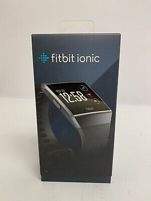 $ CDN92 • Buy Fitbit Ionic GPS Activity Smart Watch, Charcoal/Smoke Gray, Small & Large Bands