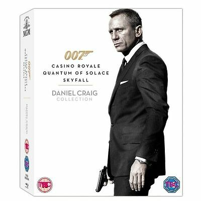 Daniel Craig - Collection (Blu-ray, 2013, 3-Disc Set, Box   Brand New And Sealed • 19.99£