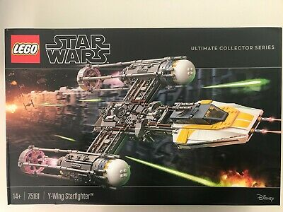 AU370 • Buy Lego 75181 Star Wars Y-Wing Starfighter Brand New SYD Pick Up