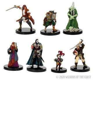 AU44.62 • Buy Dungeons & Dragons: Curse Of Strahd - Legends Of Barovia (7 Prepainted Figures)