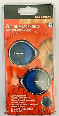 £12 • Buy Maxview H85014, Clip-On Headphones (10x Pack)
