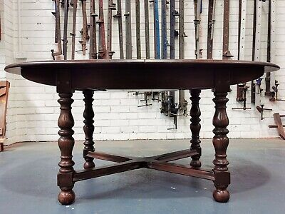AU75 • Buy Original Ercol Vintage Mid Century Extension Dining Table Oval