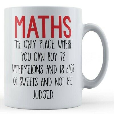 £8.99 • Buy Maths Teacher, School,  Maths, The Only Place Where You Can Buy...  - Gift Mug