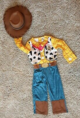 Disney Toy Story Sherrif Woody Dress Up Role Play Outfit Age 3-4 Years   • 5.99£