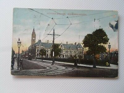 £4.99 • Buy MIDDLESBOROUGH, Victoria Square -  Old Star Series Postcard  §DP1273