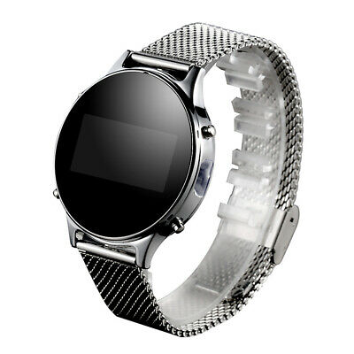 Android Bluetooth Pedometer Smart Wrist Watch OLED Screen W/ Call Reminder W1Y1 • 15.39£