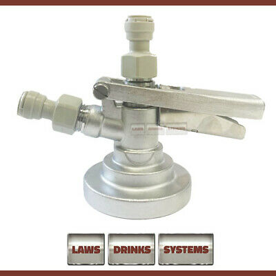 £29.50 • Buy GRUNDY G TYPE System Keg Coupler With Gas Inlet & Beer Outlet Fittings - NEW