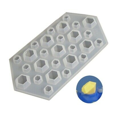 DIAMONDS Mould Chocolate Candy Silicone Craft Melts Bakeware Crystals Gems Wax • 3.52£