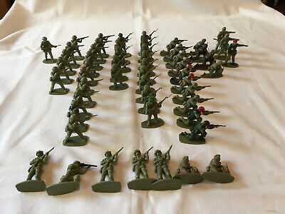 Airfix Plastic 1.32 Scale British WW2 Paratroopers Toy Soldiers. • 5£