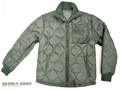 £24.50 • Buy USAF Quilted / Padded Cold Weather Jacket Parka Liner US Army Air Force Jacket
