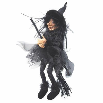 Witches Of Pendle - Sabrina Witch Flying (Black) 30cm FREE P&P • 19.95£