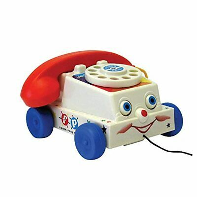 Classics 1694 Chatter Telephone Retro Baby Push Along Toy For Kids Girls Toddler • 17.98£