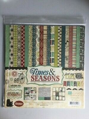 Echo Park Scrapbook Kit - Times & Seasons - Huge Craft Clear Out • 4£