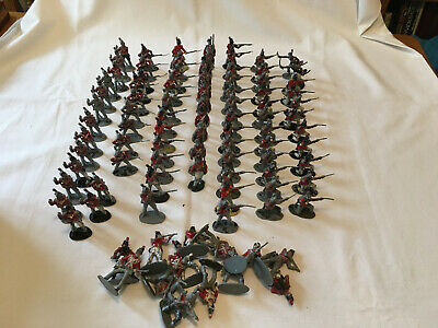 Airfix Plastic 1.32 Scale British Napoleonic Infantry Toy Soldiers. • 12.99£