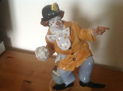 Much Sought After Royal Doulton Figurine The Clown HN 2890 • 85£