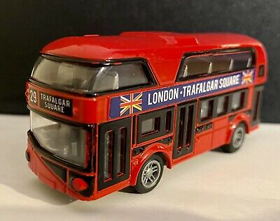 $ CDN11.88 • Buy London New Double-decker Bus Diecast Model Toy  With Pull Back Action Great Toy