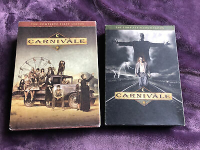 Preowned HBO's CARNIVALE Complete Series Season 1 And 2 DVD Very Good Condition • 24.34£
