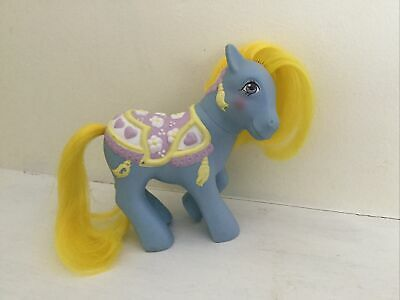 My Little Pony Brilliant Blossoms Merry Go Round Ponies Vintage G1 MLP Year 7 • 14.99£