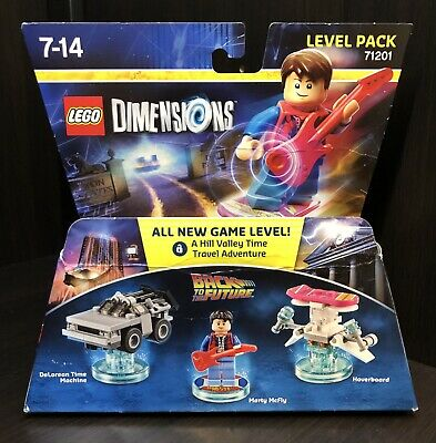 AU55 • Buy LEGO Dimensions Marty McFly Back To The Future Level Pack 71201 BOX DAMAGED
