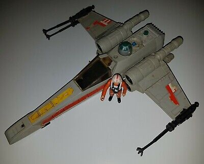 $ CDN12 • Buy STAR WARS Vintage X-WING FIGHTER W/ Luke - All Original - Check Out My Auctions