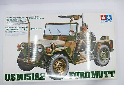 $165 • Buy Tamiya Ford Mutt M151A2 Conversion To IDF OREV TOW Mutt + Resin Engine 1:35