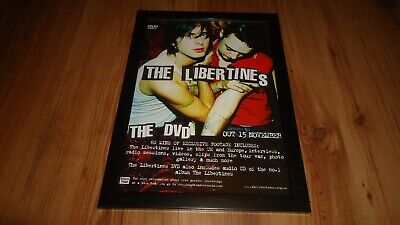 £12 • Buy THE LIBERTINES The Dvd-Framed Original Advert