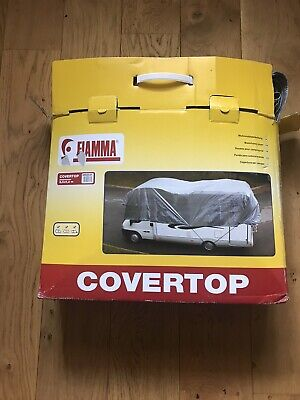 Fiamma Cover Top Motorhome Cover Camper Van Weather Winter Roof Cover 04932-01 • 45£