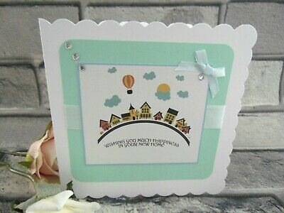 Handmade Personalised New Home Card 8 Design Choose  • 2.99£