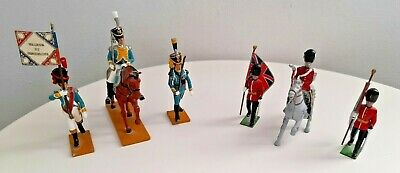 Collection Of Three Beau Geste & Three Britains Lead Soldiers In One Lot. • 10£