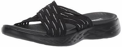 Skechers Women's Go Run 600-Sunrise Slide Sandal, Black, Size 10.0 YgyY US • 24.99£