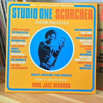 STUDIO ONE SCORCHER Instrumentals – Soul Jazz Compilation Triple LP 2002  • 19.99£