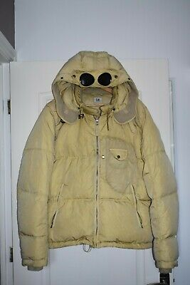 CP Company Down Jacket, Size Extra Large XL, Beige • 156£