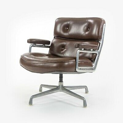 AU2741.82 • Buy 1970s Herman Miller Charles Ray Eames Time Life Chair Brown Leather Desk Chair
