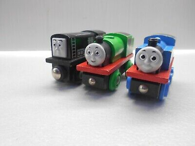 Wooden Thomas The Tank Engine Trains Brio Thomas Percy And Diesel • 16.99£