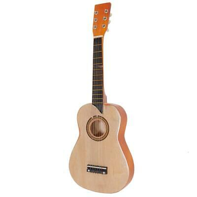 New 25  Acoustic Guitar W/ String For Children Kids Wood Color • 12.81£