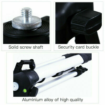 AU43.99 • Buy Folding Tripod Projector Stand Laptop Computer Stand 53-136cm Home Cinema Office