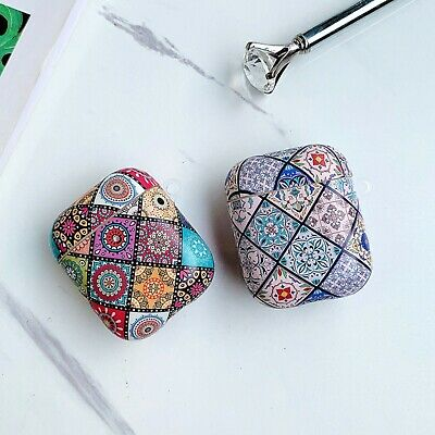 AU17.99 • Buy For Apple AirPods 1/2/Pro Case Silicone Cover Skin Mediterranean Mosaic Designs