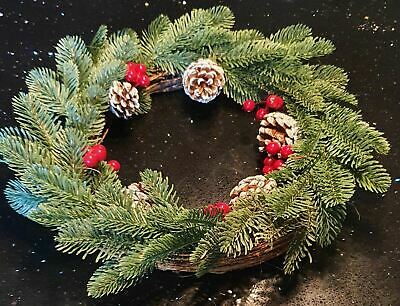 Christmas Wreath Pine & Berry  35cm • 10.99£