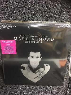 MARC ALMOND - HITS AND PIECES - THE BEST OF - 2LP PINK & BLACK VINYL New Sealed • 17.35£