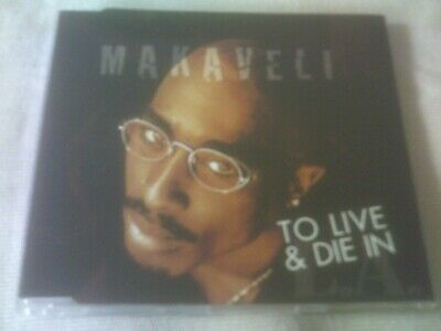 2pac / Makaveli - To Love And Die In L.a - 3 Track Cd Single • 1.99£