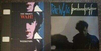 THE MIGHTY WAH / PETE WYLIE - 2 X 7  SINGLE LOT • 5£