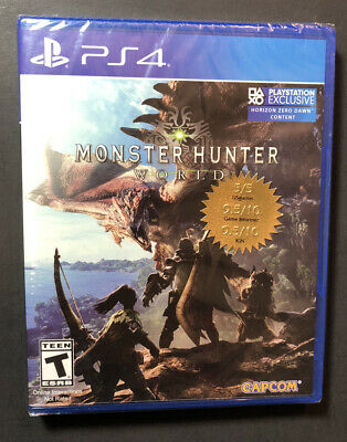 AU47.28 • Buy Monster Hunter [ World ] (PS4) NEW