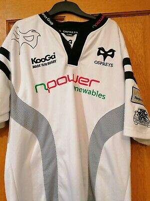 Mens Ospreys Rugby Shirt In Excellent Condition • 3.10£