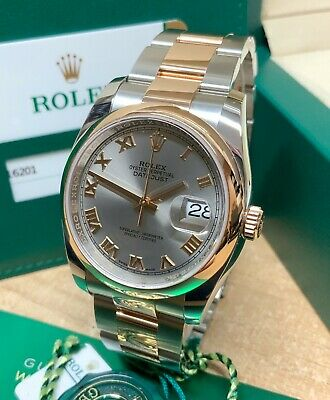 $ CDN14017.99 • Buy Rolex Datejust 36mm 116201 Bi Colour 2017 Rhodium Dial WITH PAPERS