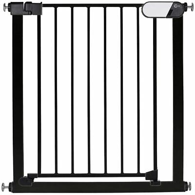 Callowesse© Kemble Pressure Fit Baby / Dog Stair Gate 75-82cm - Black • 28.99£