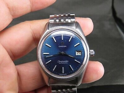 $ CDN706.98 • Buy Vintage Omega Seamaster 1012 17j  Stainless Steel Ss Swiss Date Auto Mens Watch