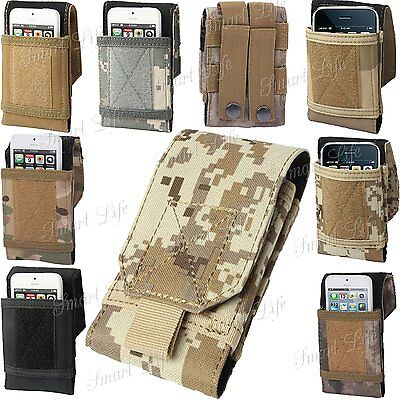 £4.98 • Buy Army Universal Camo Belt Loop Hook Case Cover Pouch For LG Models K71 Optimus