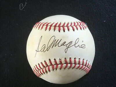 $ CDN495.54 • Buy Sal Maglie Signed Autographed Mlb Official Baseball