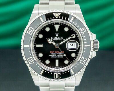 $ CDN20717.30 • Buy Rolex 126600 Sea Dweller 126600 RED 43MM SS WITH ORIGINAL BOX AND PAPERS!